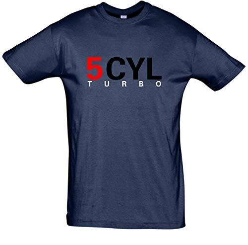 BDS de pantalla técnica 5Cilindro Turbo Camiseta––Camiseta para hombre en diferentes colores 5zyl Turbo