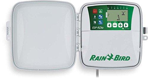 Rain Bird - Programador de riego RZXe 4 zonas para exteriores con predisposición WiFi