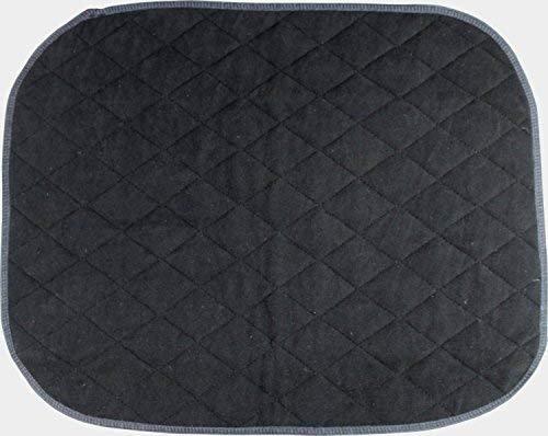 Absorbierende Sitzauflage Inkontinenz Sitzunterlage Größe 40 x 50 cm von caretex (schwarz)