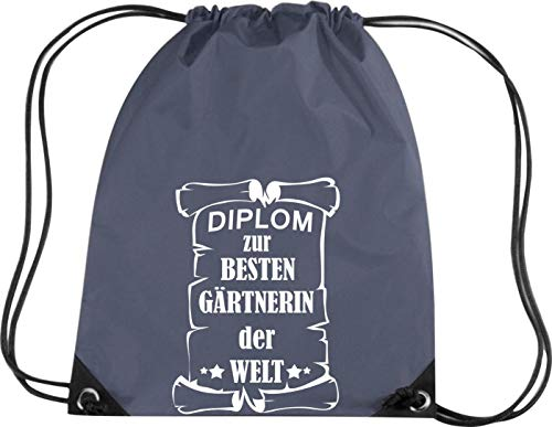 Camiseta stown Premium gymsac Diploma para mejores Jardinera del Mundo