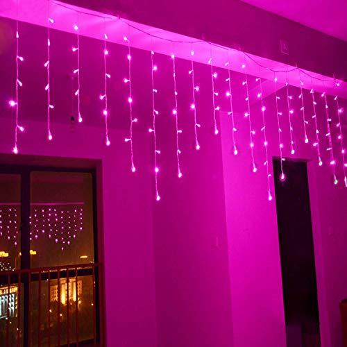 Lainin 3.5M/11ft 96 LED Linkable Fairy Curtain String Light...