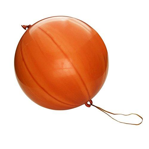 Severyn Palloncini con Elastico Punch-Ball (Pacco da 50) (Taglia Unica) (Assortiti)