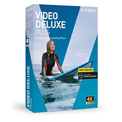 Vidéo deluxe 2020 Plus - Des films à couper le souffle|Plus|2 Devices|Unlimited|PC|Disque