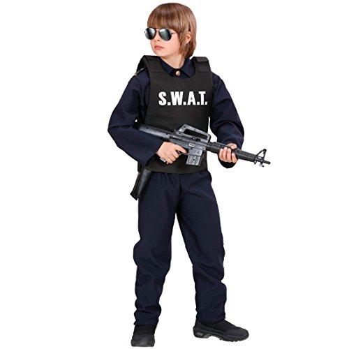 NET TOYS Veste SWAT déguisement pour Adulte Veste d'intervention Commando spécial Veste spéciale élite Policier Police