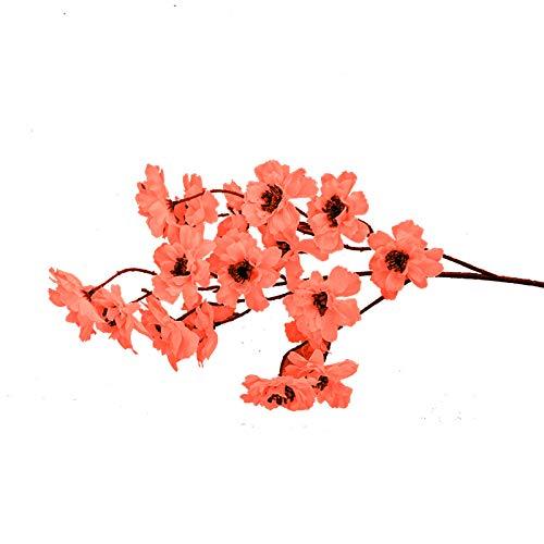 lamta1k Artificial Flower Plants,Simulation Artificial Plant Bonsai Ornament,Silk Flowers Fake Flowers for Home Bridal Wedding Party Festival Decor Gift