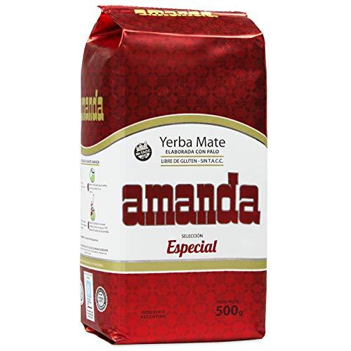 Yerba Mate Amanda Seleccion Especial 1000g Mate Tee aus Argentinien