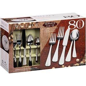 Wallace 80 pc Flatware Set - Cooper