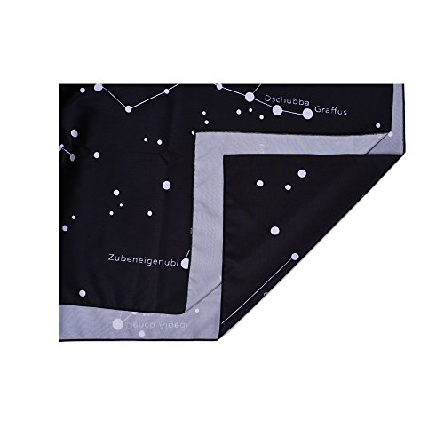 """Gontic Moon Constellations Tapestry Wall Hanging Horoscopes 12 Constellations Map Mandala Tapestry Boho Hippie Tapestry Black Night Sky TapestryMilky Way Tapestry Universe Stars Tapisserie 59""""x79"""""""