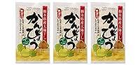 無添加 国産 無漂白のかんぴょう 30g×3個 ★ ネコポス ★ 栃木県産の夕顔の実を紐状にむき、真夏の太陽熱で干し上げた無漂白かんぴょうです。