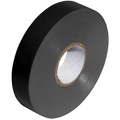 Gocableties PVC-Isolierband, 33 m x 19 mm, qualitativ hochwertige, starke Rolle, Schwarz