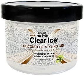 Manufacturer OFFicial shop Raleigh Mall Ampro Clear Ice Coconut Oil Styling 2 of 32 oz. Gel Pack
