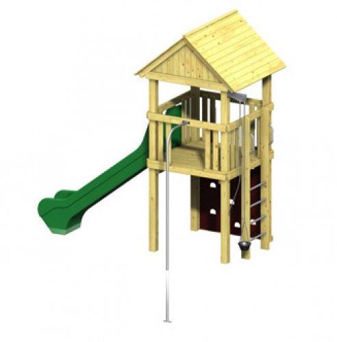 Winnetoo Pro Spielturm Variation 3 - öffentliche Spielanlagen