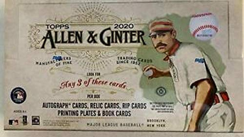 2020 Topps Allen & Ginter Hobby Box (24 Packs/8 Cards: 3 Hits)