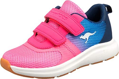 KangaROOS KB-Agil V Sneaker, Daisy Pink/Navy 6134, 36 EU