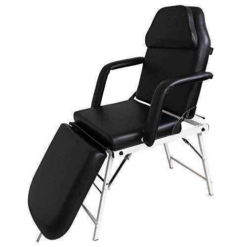 Camilla Estética Plegable y portátil de masaje color negro