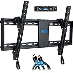"Patented design Tv mount: TV wall mounts fit most 37-70"" Up to 132 lbs, with max VESA 600 x 400mm. Images on left side will help you check VESA, TV weight, wood studs spacing and possible blocked input. Not perfect? You can check other Mounting Dream..."