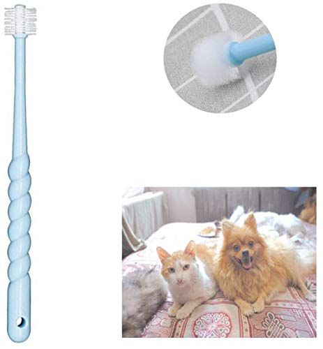 Alittle 360-Degree Pet Toothbrush for Puppy, Small Dog and Cat, Colors May Vary