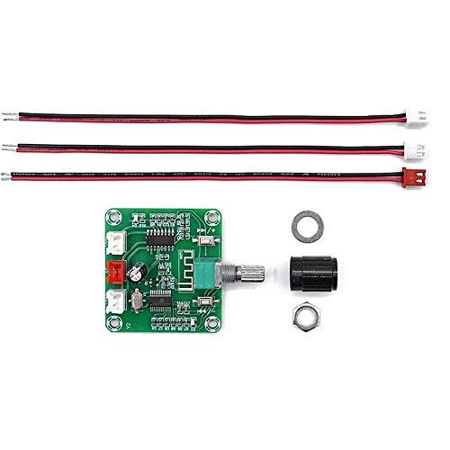 DollaTek XH-A158 placa amplificadora estéreo ultra clara bluetooth 5.0 canales duales módulo de sonido de altavoz inalámbrico diy de pequeña potencia 5wx2 dc5v