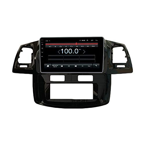 Android 10 Autoradio Car Navigation Stereo Multimedia Player GPS Radio IPS 2.5D Touch Screen for Toyota Fortuner Hilux 2005-2007