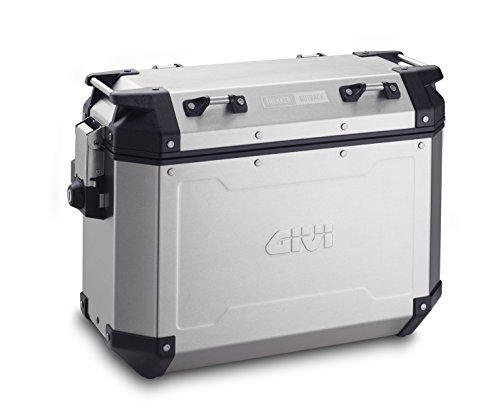 Givi Trekker Outback natural 37 litros - par de casos de Aluminio Lateral, Carga Máxima 10 Kg,