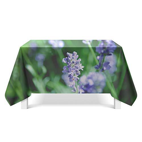 DREAMING-Kleine Florale Tischdecke Home Esstisch Stoff Tv-Schrank Couchtisch Stoff Runde Tisch Tischset 140cm * 180cm