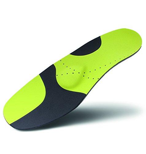 Green-Feet Active 4 Ball-Sport-Einlegesohlen Sporteinlagen für sport mit schnellen Richtungswechseln wie Handball, Basketball, Volleyball. usw. (44/45)