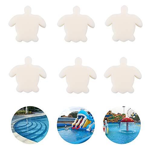 Lifreer Öl-absorbierender Schwamm für Whirlpool und Schwimmbad, entfernt Öle und Lotionen für Ihr Spa, 6 Stück