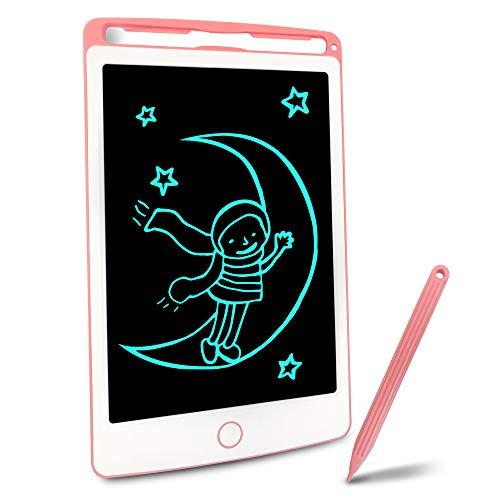 Richgv Tablette d'écriture LCD pour Enfants et Adultes, 8,5 Pouces Tablette de Dessin électronique avec lanière, Convient au Bureau à Domicile…