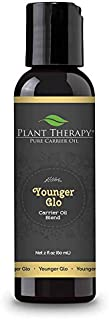 Plant Therapy Younger Glo Carrier Oil Blend 2 oz Base Oil for Aromatherapy, Essential Oil or Massage use