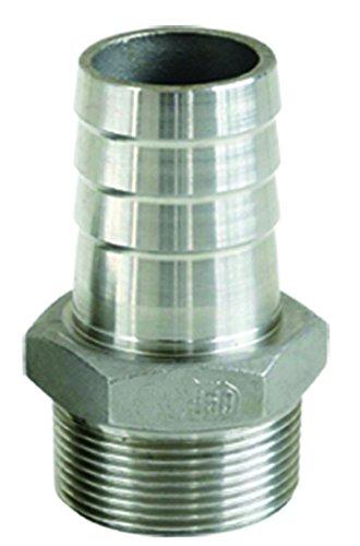 Sirocco 06210502 en acier inoxydable V2A-raccord de tuyau 1/2\