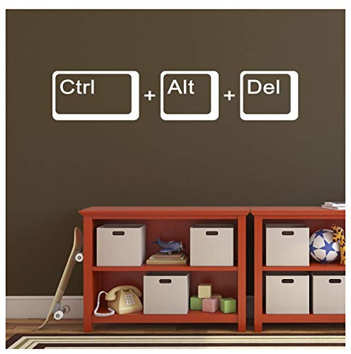 Informatik Wandtattoo Schule Kinderzimmer Laptop Spieler Zitat Wandaufkleber Vinyl Home Decor Spiel Wandbild 57X12Cm