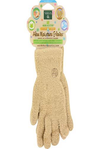 Earth Therapeutics Aloe Moisture Gloves, Ultra Plush Tan, 1 Pair by Earth Therapeutics