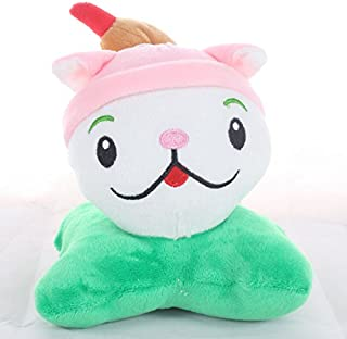 TavasHome Plants vs Zombies 2 PVZ Figures Plush Baby Staff Toy Stuffed Soft Doll 13cm-35cm Soft PP Cotton (Cattail)
