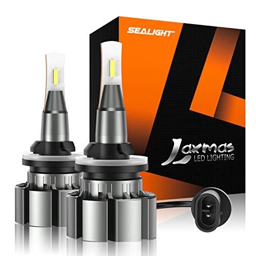 SEALIGHT 880 LED Fog Light Bulb, 5000lumen 6000K Extremely Bright Xenon White, 885 893 899 Halogen Fog Light Bulb Replacement, Pack of 2