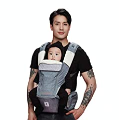 Becase of the newborn supprt,even infants can use the product.No more baby waking up from Velcro sounds noiseless detaching is now possible.The product could be used in 3 steps according th the growth of the baby and posture holding the baby.The 4 wa...