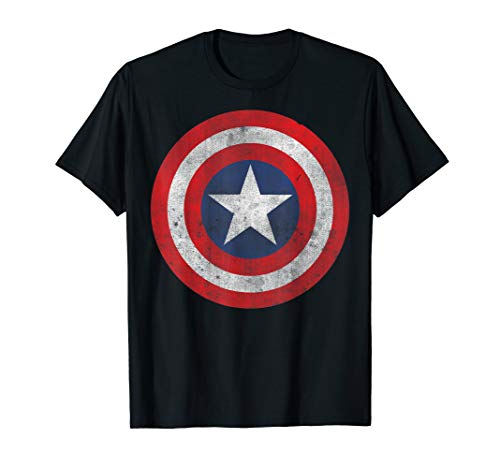 Marvel Captain America Classic Shield Graphic T-Shirt