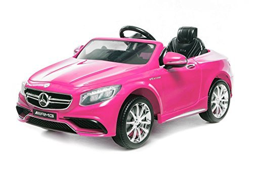Vehículo infantil con licencia, Mercedes Benz S63 AMG 2 x 35 W...