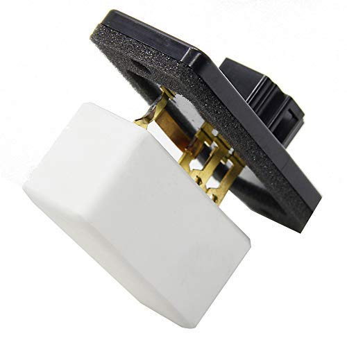 HVAC Fan Blower Motor Resistor Compatible with Dodge & Jeep Vehicles - Ram 1500, 2500, 3500, Grand Cherokee - Replaces 973-020, 68004241AA, 5012212AA, 4720278 - AC Heater Relay