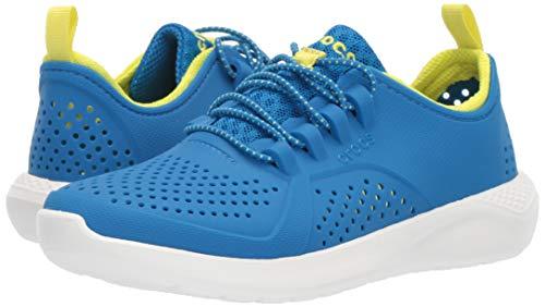 Crocs Kids' LiteRide Pacer Sneakers, Black/Black, 5 Big Kid