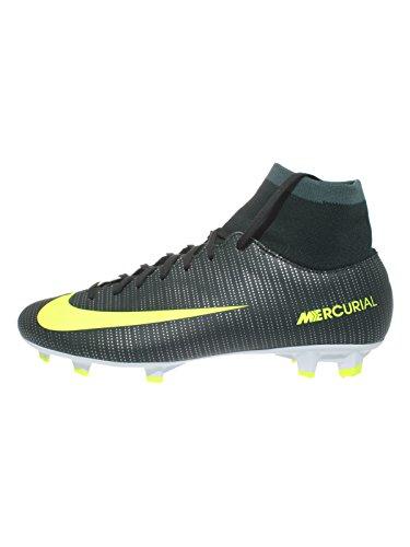 Nike Herren Mercurial Victory VI CR R7 DF FG Fußballschuhe, Mehrfarbig (Seaweed/Hasta/White/Volt), 44.5 EU