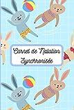 Carnet de Natation Synchronisée: carnet entrainement natation | carnet de bord natation | cahier natation synchronisée