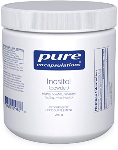 Pure Encapsulations - Inositol Powder 2g - Hypoallergenic Vitamin B8 Supplement - 250 Grams