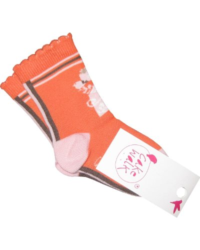 Cakewalk Socken ANJA coral-23-26 - Kindermode : Baby - Mädchen