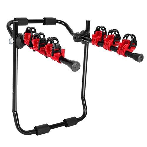 TXDTX-Raincoat Soporte para Bicicletas para Coche, 3 Soportes para enganches para Bicicletas, Soportes para Bicicletas Plegables, adecuados para remolques, Camiones, SUV
