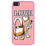 Hapdey Phone Case for [ Bq Aquaris M5.5 ] design [ Love,