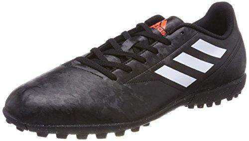 adidas Herren Conquisto II Turf Fußballschuhe, Schwarz (Core Black/FTWR White/solar Red), 40 EU