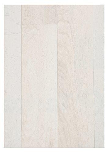 PVC Boden Bodenbelag Auslegware CV Vinyl Belag Dielen Optik Vinylboden Holzdielen Weiß 500 x 200 cm