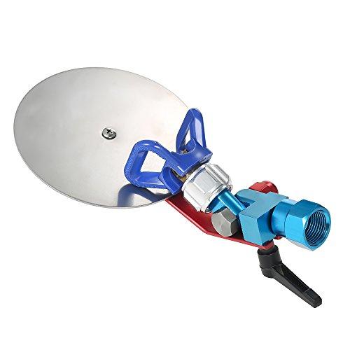 """Pistolas de pintura Deflector de salpicaduras 7/8"""" +base + 517 boquilla para Graco Wagner Titán,Pintar recortador de pintura Divisor de color,Máquina de pulverización aireless de alta presión"""