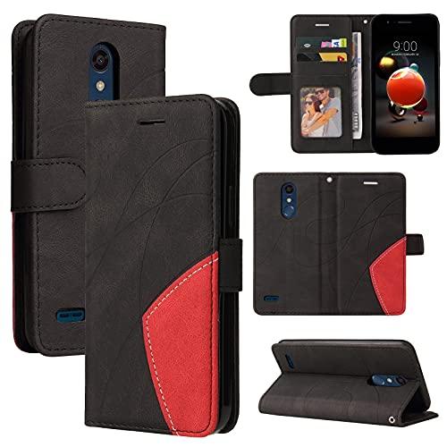 Caso del tirón del teléfono Para LG K8 2018 (US Versión) Funda de billetera de cuero, soporte de la ranura de tarjetas Flip Funda para teléfono para LG K8 2018 (US VERSIÓN) CASO DE CASO DE MERMENADORE