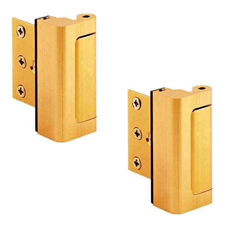2 x Puerta Viper Cerradura de latón - 12 x más fuerte que